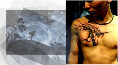 Tatuajes de unicornio.   Tatuajes de animales