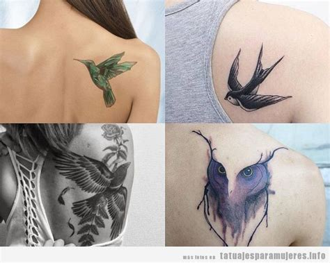 Tatuajes De Pajaros Para Mujer Seonegativocom