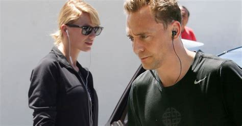 Taylor Swift and Tom Hiddleston hit the gym after jetting ...
