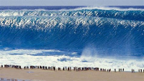 Te contamos qué es y como se forma un maremoto