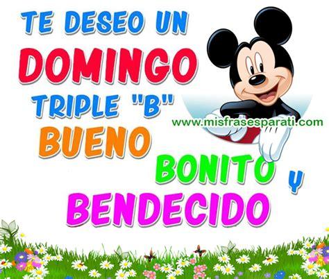 Te deseo un domingo triple | Feliz Domingo | Buenos dias ...