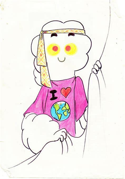 te muestro dibujos este simpático Hippie - Imágenes - Taringa!
