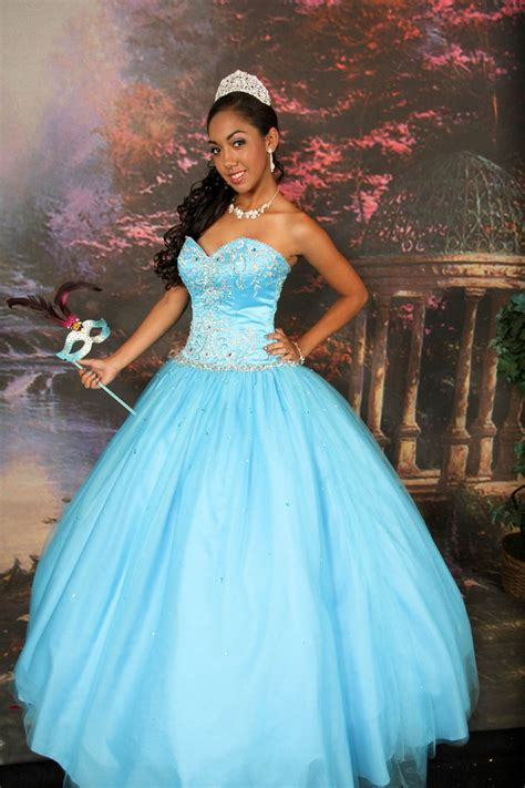 Teal Quinceanera Dresses | Dressed Up Girl