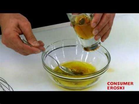 Técnicas básicas de cocina: Cómo hacer vinagreta - YouTube