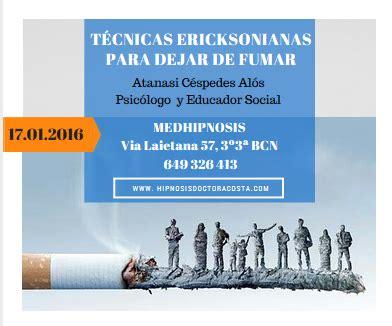 Técnicas ericksonianas para dejar de fumar - MedHipnosis