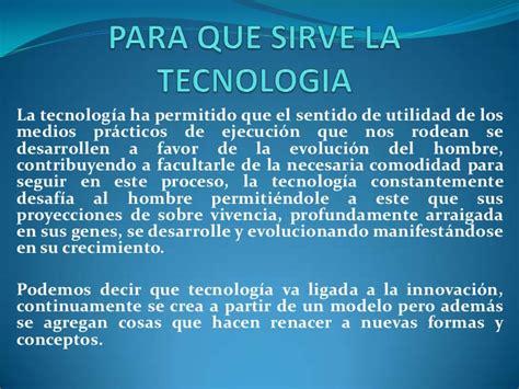 Tecnologia de la informatica y la comunicación