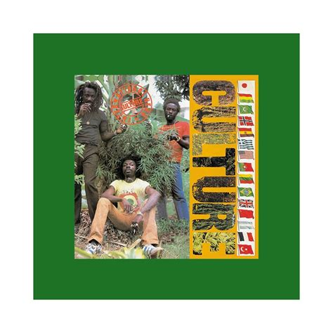 Tee shirt Culture reggae band vert