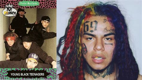Tekashi 6ix9ine is the new Young Black Teenagers!!!! - YouTube