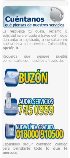 Teléfono Colsubsidio   Información y Atención al cliente