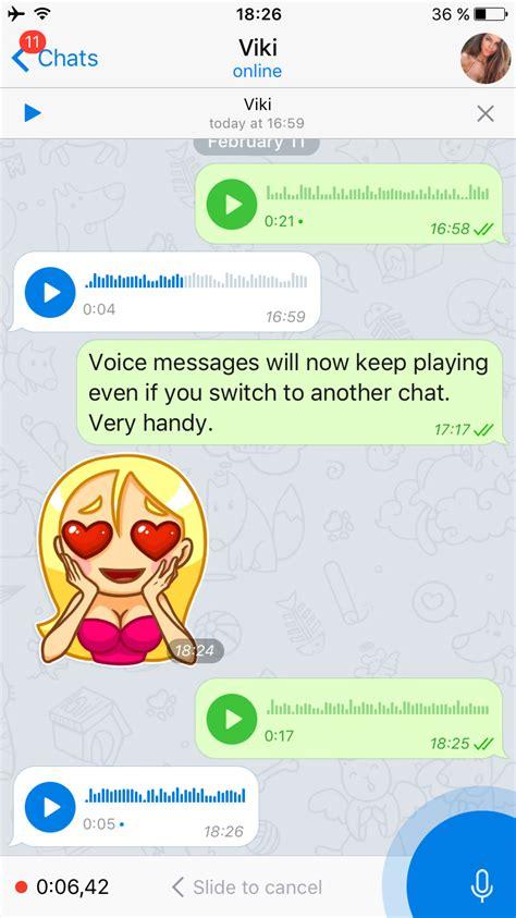 Telegram actualiza su app y agrega nuevas... | ONE DIGITAL