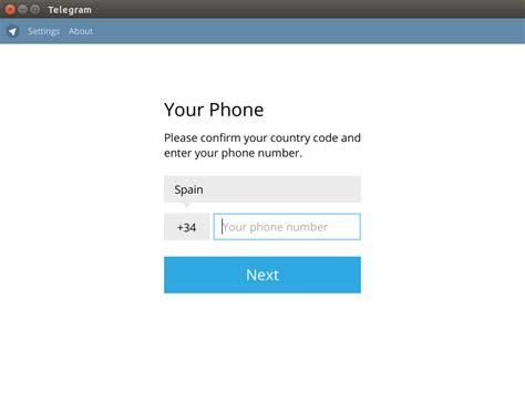 Telegram desktop: Cliente de Telegram para Linux ...