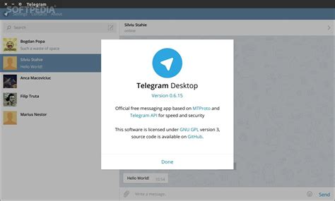 Telegram Desktop Native App for Linux Is Simply Awesome