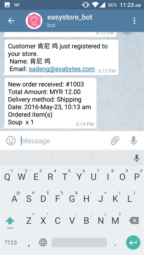 Telegram   EasyStore App
