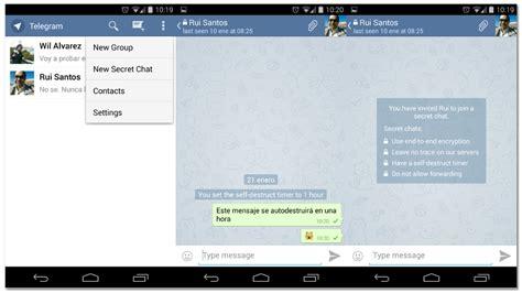 Telegram, el clon open source de Whatsapp con alguna que ...