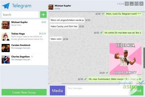 Telegram for Desktop - latest version 2018 free download