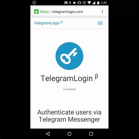 Telegram Login: Loguearte en webs via Telegram | tlgram.net