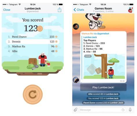 Telegram Messaging App Now Offers Bot Powered Games