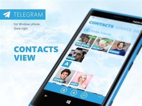 Telegram Messenger for Windows Phone Receives Important Update