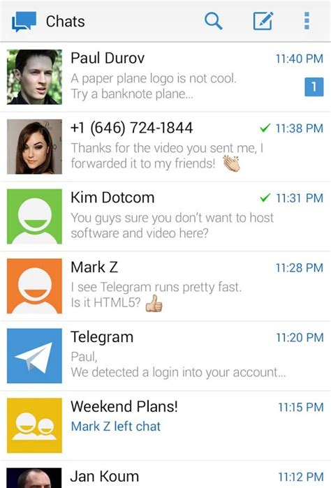 Telegram – Aplicaciones para Android 2018 – Descarga ...
