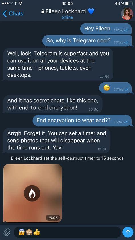 Telegram X – новый клиент с темной темой оформления и ...