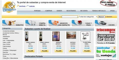 Telocompro.es, subasta de objetos de segunda mano