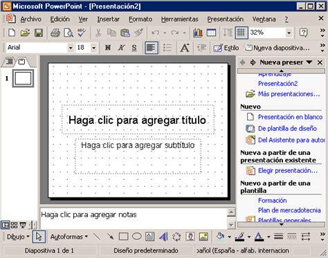 Tema 02 Crear una Presentación