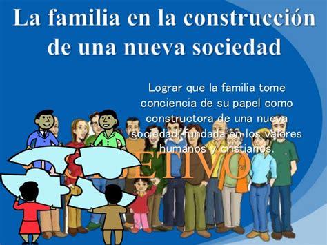 Tema 1 La Familia en la construcción de una nueva sociedad