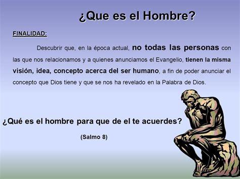 TEMA 1 ¿Que es el Hombre?. - ppt video online descargar