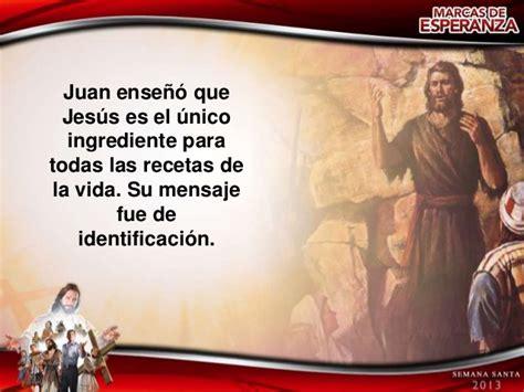 Tema 2 El mensaje de Juan el Bautista