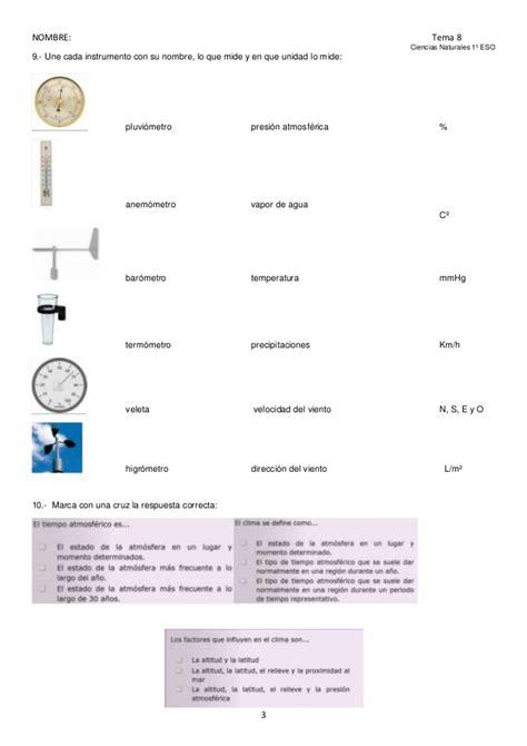 Tema 8 la atmósfera examen