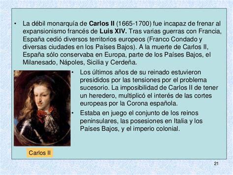 Tema 8. La España del siglo XVII