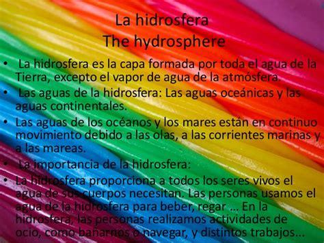 Tema 9. la hidrosfera y la atmósfera