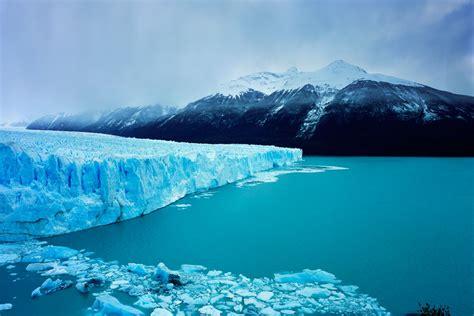 Tema serio Los paisajes glaciares más bellos del mundo