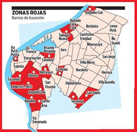 Temible mapa muestra zonas de concentración de drogas