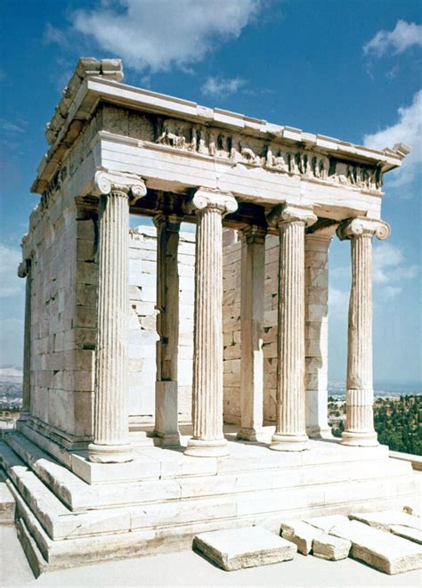 Temple of Athena Nike  5c. BC , Athenian Acropolis, Greece ...