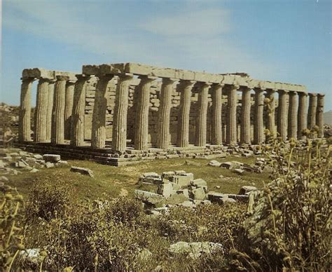 templo apolo epicuro bassae | Arte Grecia Helenística ...