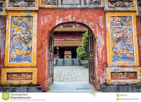 Templo De Vietnam Foto de archivo   Imagen: 55502416