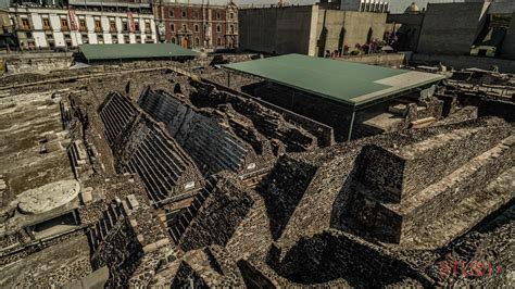 Templo Mayor, México City | Dronestagram