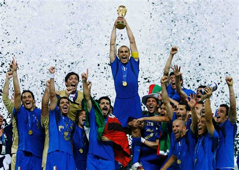 Ten iconic Italy-France moments - Cannavaro goes up for ...