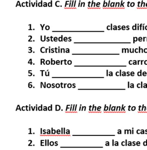 Tener & Venir Worksheet - Spanish by Brittany Baxter | TpT