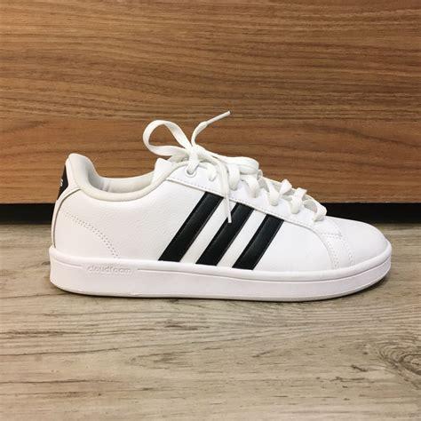 Tênis Adidas Sport Branco   Cansei do Salto   Desapego de ...