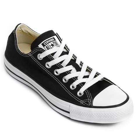 Tênis Converse All Star Ct As Core Ox Preto | Netshoes