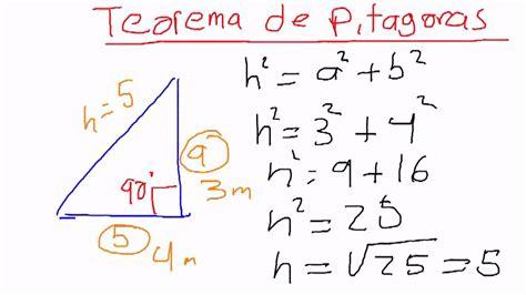 Teorema de Pitagoras | Doovi