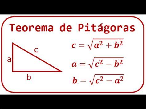 Teorema de Pitágoras   Explicación y ejemplos ...