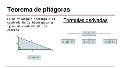 Teorema de pitágoras - UPBC