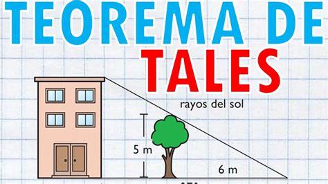 TEOREMA DE TALES Super Facil   YouTube