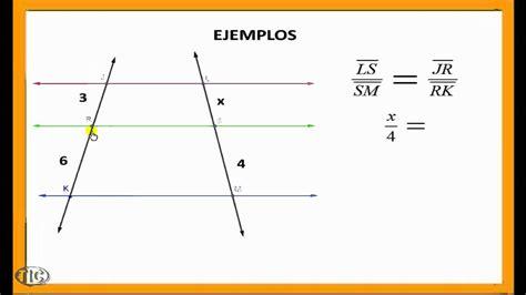 Teorema de Thales.wmv   YouTube