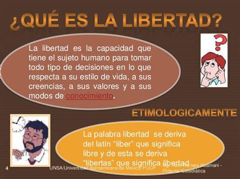 Teoría de la libertad Ruth Romero h