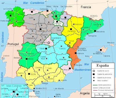 tercerogeografiaciamaria: ORGANIZACIÓN TERRITORIAL DE ESPAÑA