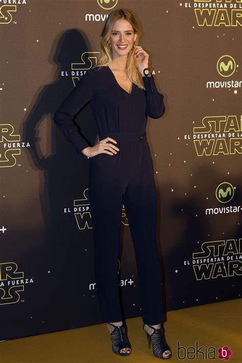 Teresa Baca en el estreno de  Star Wars: El Despertar de ...